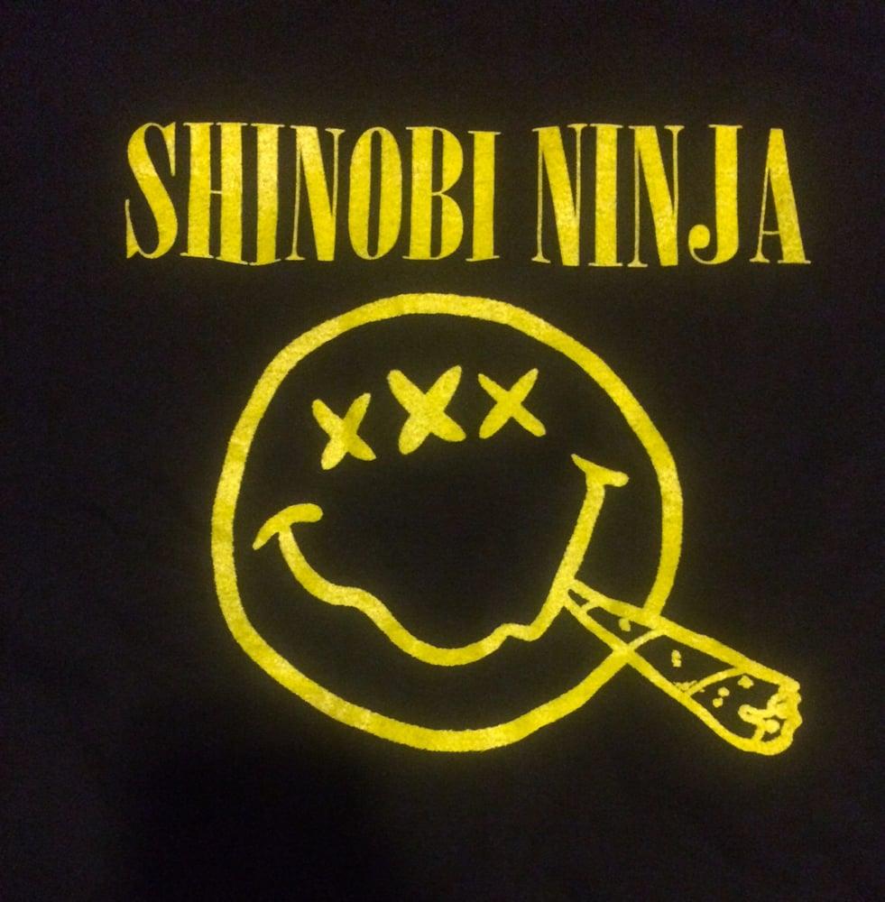 Image of Shinobi Ninja Nirvana Shirt