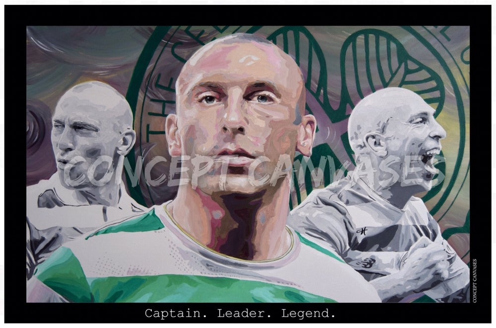 Image of 'Captain. Leader. Legend' A3 Print