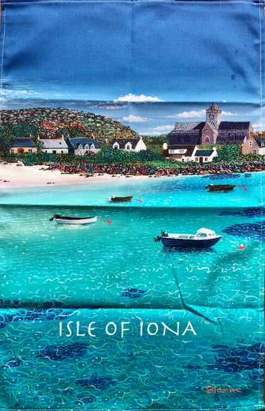 Image of Iona tea towel