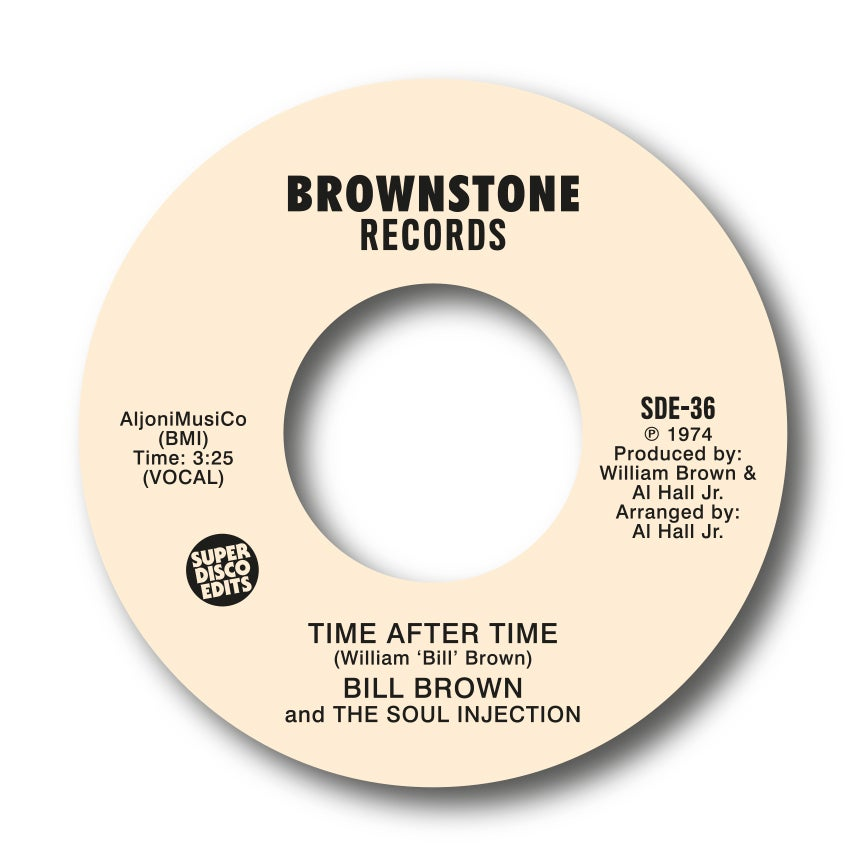 "Image of Bill Brown & The Soul Injection ""Time after Time"" Brownstone"