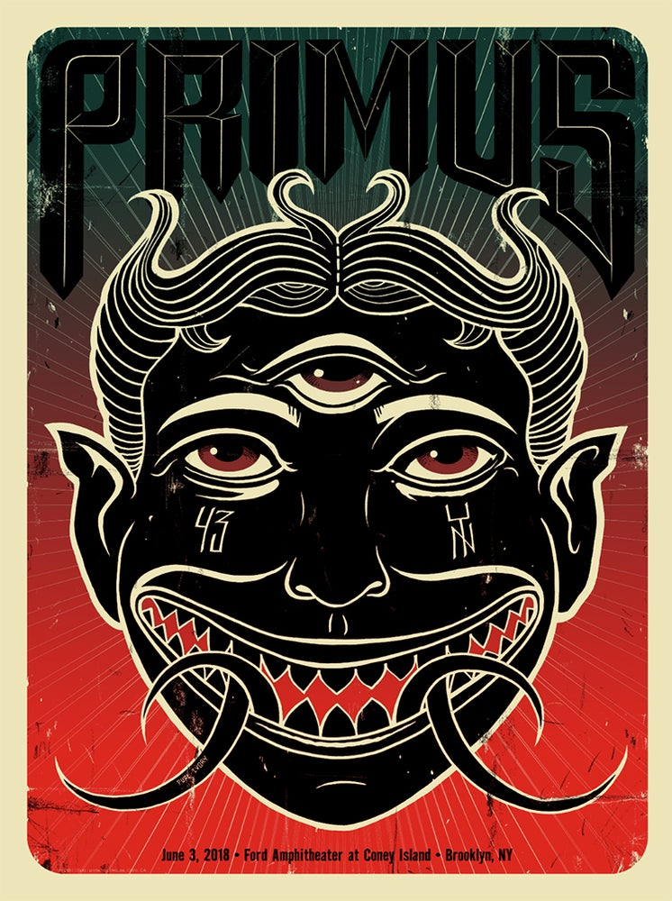 Image of Primus Brooklyn Poster