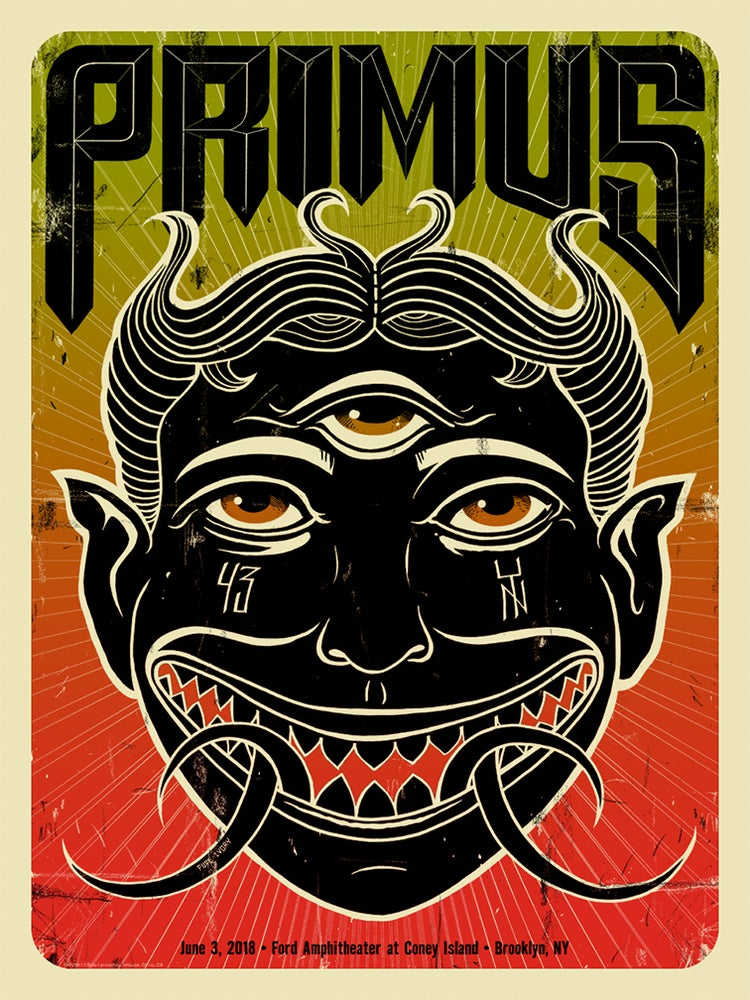 Image of Primus Brooklyn Artist Edition Poster