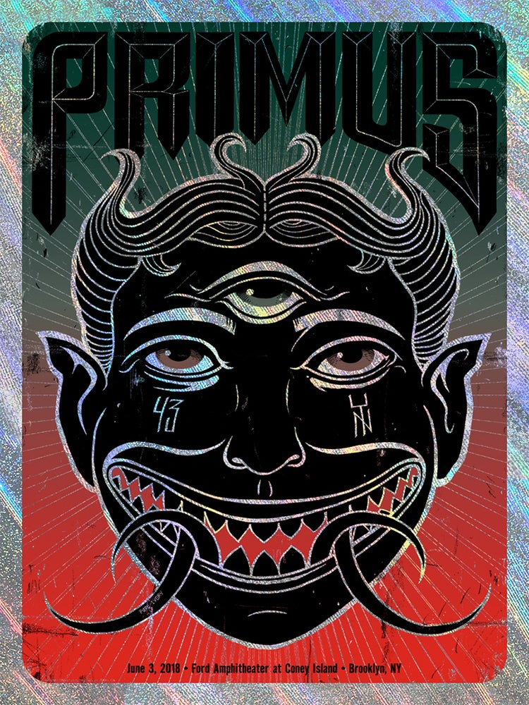 Image of Primus Brooklyn Shooting Star Foil Poster