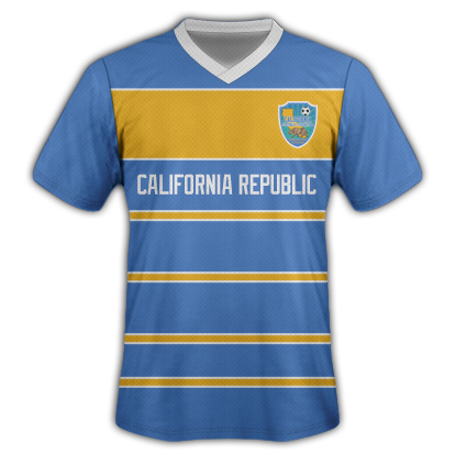 Image of California National Football Team Jersey (BLUE)