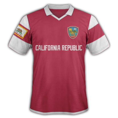 Image of California National Football Team Jersey (RED)
