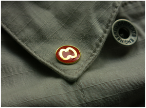 Image of 'CC LOGO' PIN [RED]
