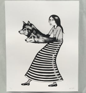 Image of WOLF WALKER - print
