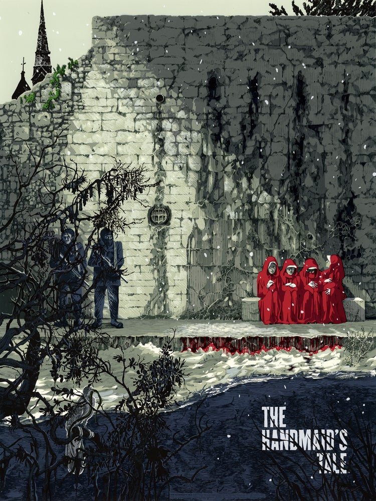 "Image of The Handmaid's Tale (Mondo) • Limited Edition Official Poster (18"" x 24"")"