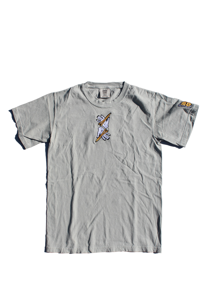 Image of BUTTEFLY TEE SHIRT - SANDSTONE