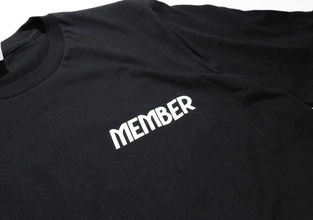 Image of Love Below Logo T-Shirt (BLK/WHT)