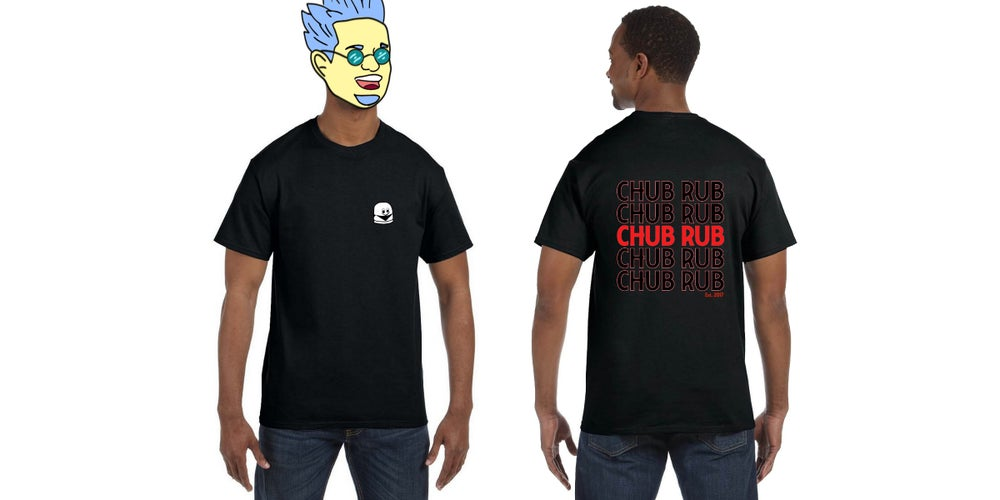 """Image of THE """"TAKE-OUT"""" TEE - BLACK"""