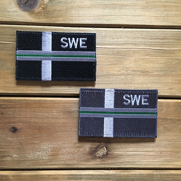 Image of SWE FLAGGA - THIN GREEN LINE