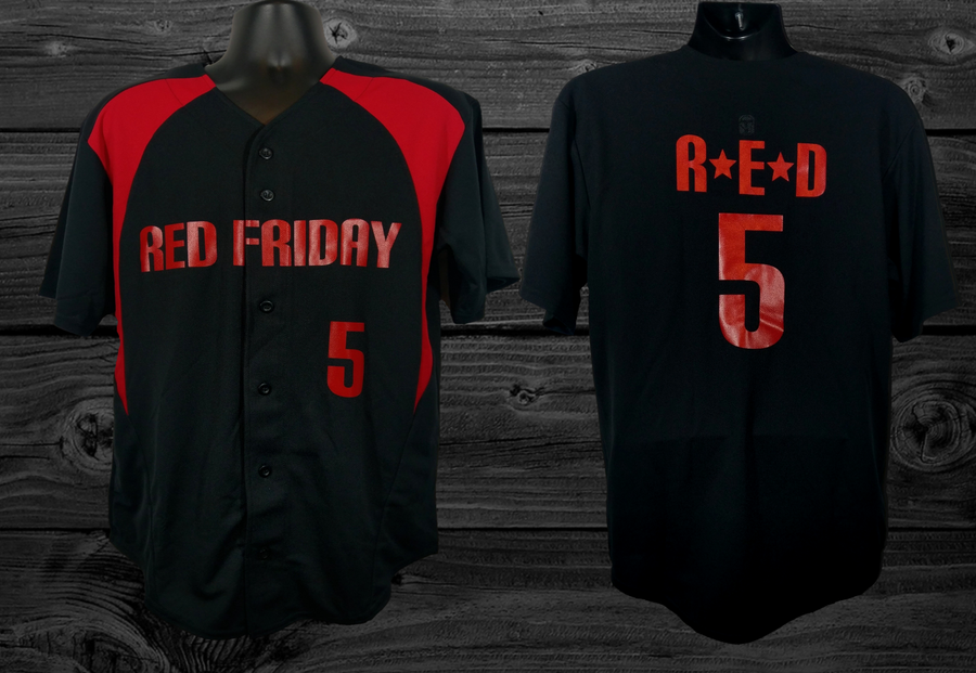Image of R.E.D. Baseball Jersey