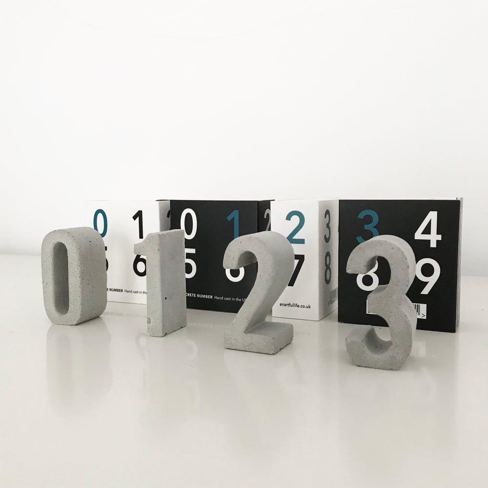 Image of Concrete numbers