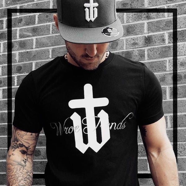 Image of BLACK SILVER LINING TEE