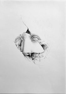 Image of UNIQUE WORK/ Cracked Face