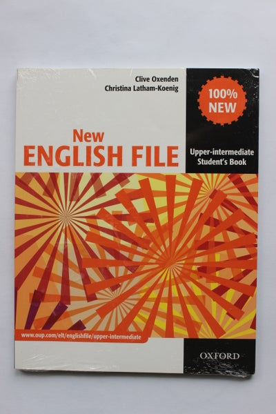 Image of English File Student Book - Upper-Intermediate level (new - in wrapping)