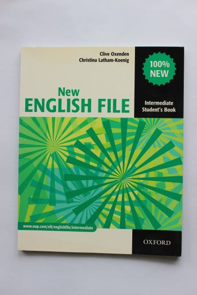 Image of English File Student Book - Intermediate level (second hand)