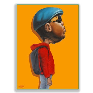 Image of RAP HEAD *ORIGINAL AND PRINT*