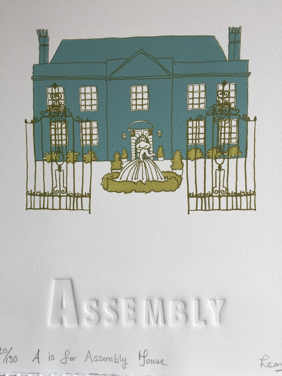 Image of A is for Assembly House