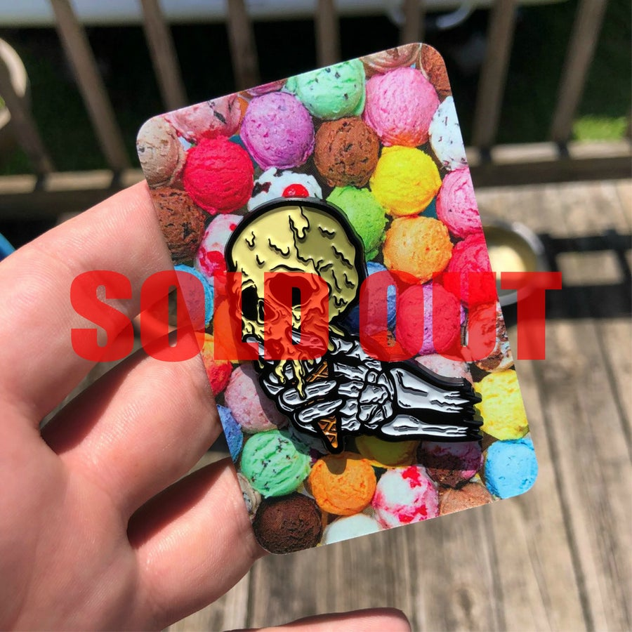 Image of iScream Logo Pin (Blind Bagged)