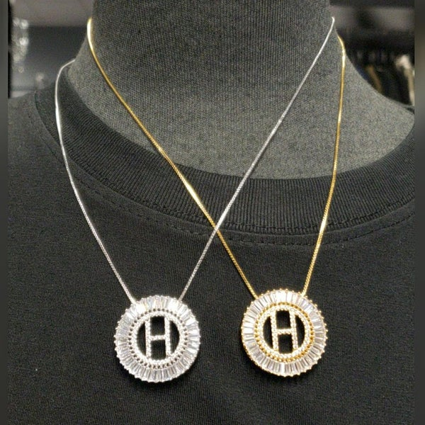 Image of REGAL INITIAL NECKLACES