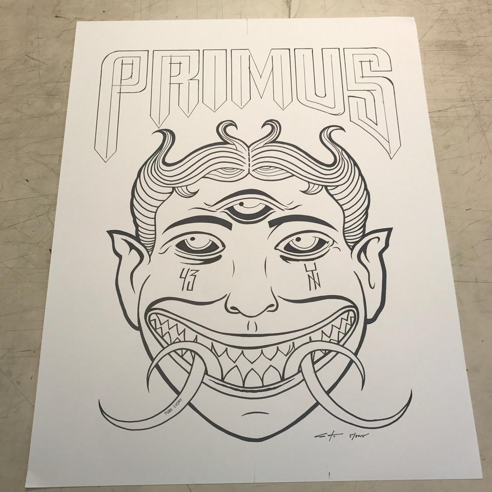 Image of Primus Brooklyn Original Inking