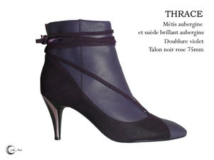 Image of THRACE Aubergine - Dark Purple