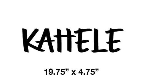 Image of Kahele Sticker