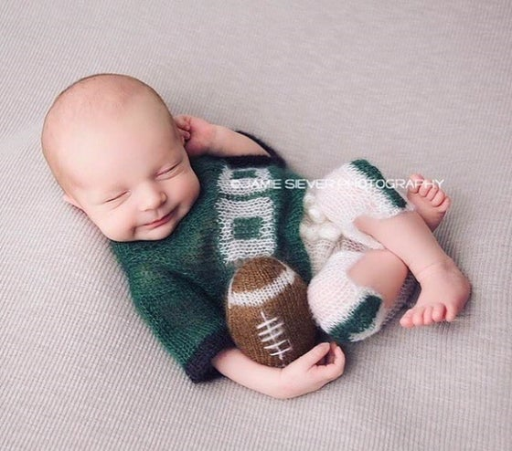 Image of Little Football Jersey/Shorts Set