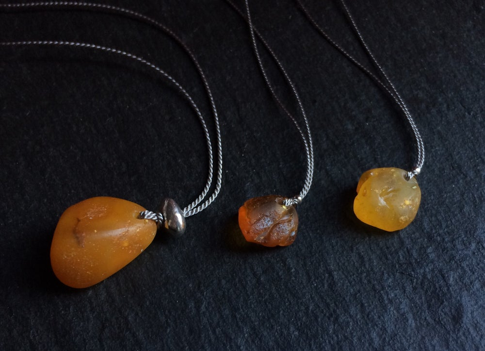Image of Suffolk Amber necklaces