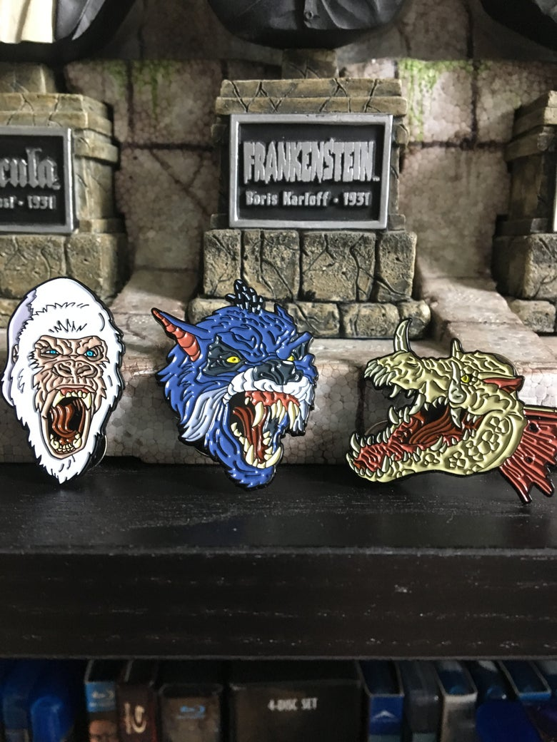 Image of Mondo Rampage pin set