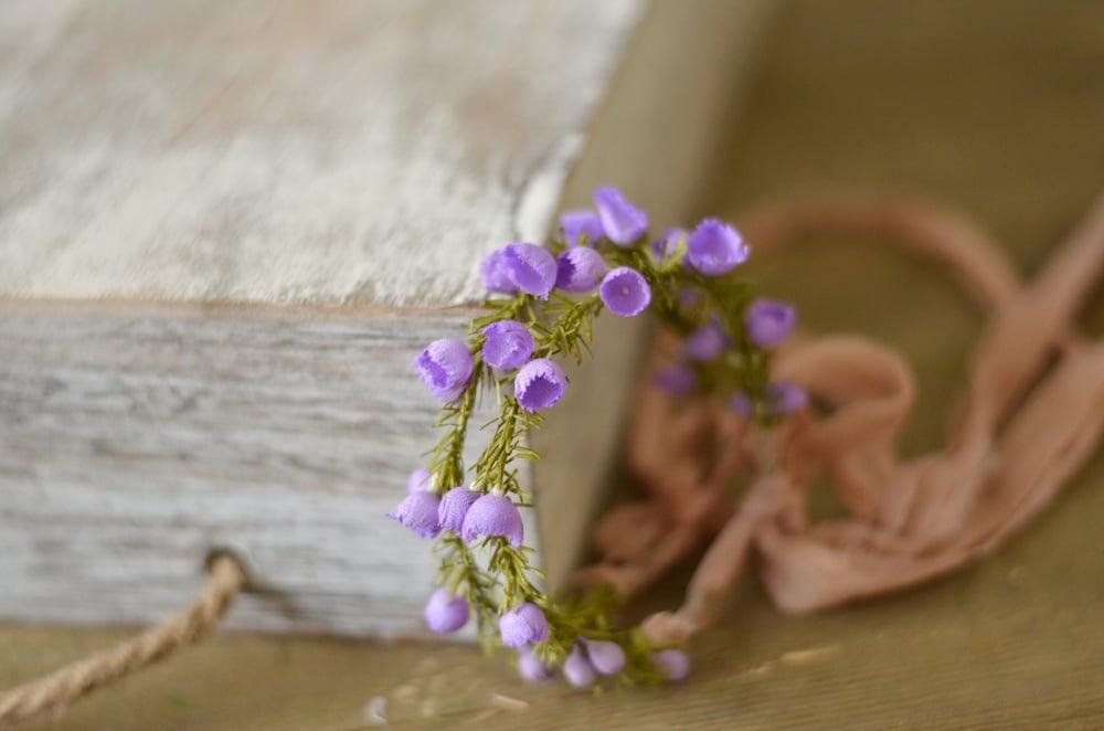 Image of Eleanor halo (lavender)