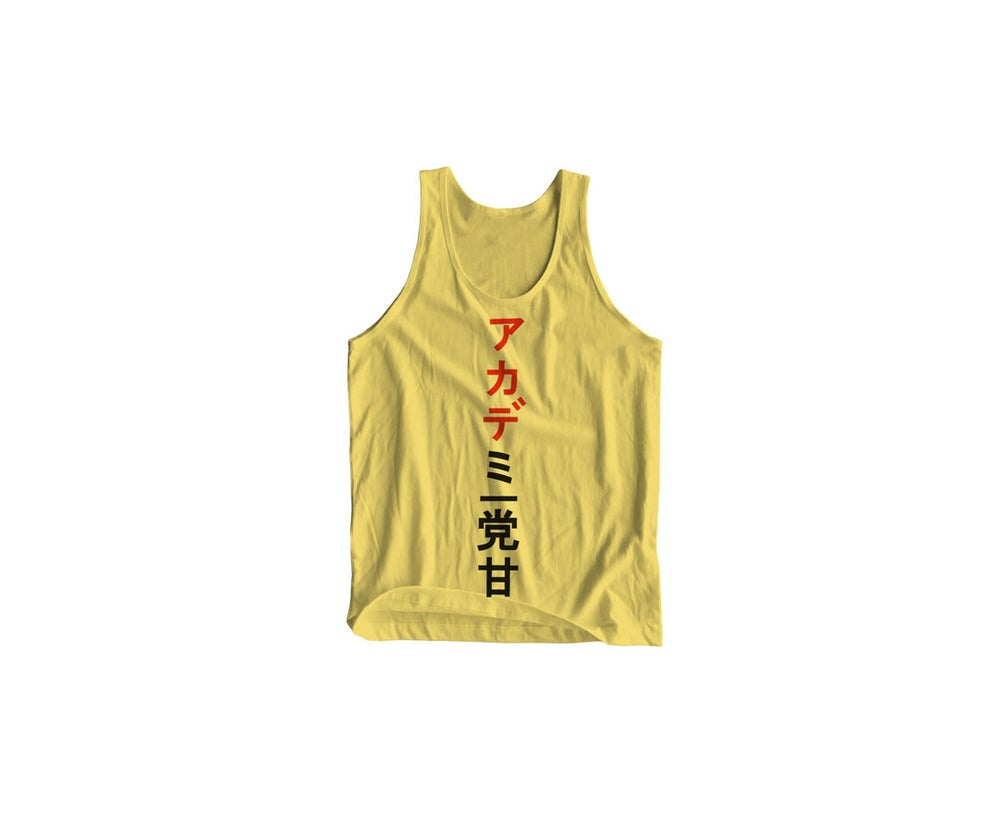 Image of STA Little Tokyo Tank Top Yellow Haze