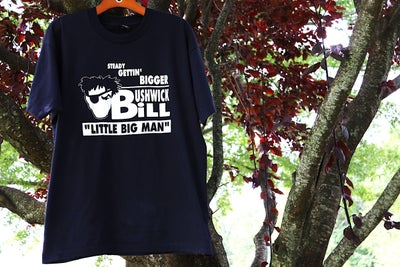 "Image of Very Rare 1992 Vintage ""Bushwick Bill ""LITTLE BIG MAN"" Specialty Rap Tee Sz: Large"