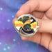 Image of Candycorn Bat Enamel Pin