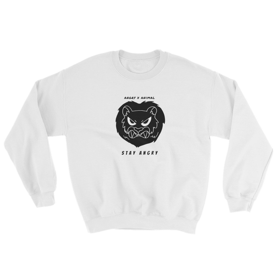 Image of ANGRY ANIMAL CREWNECK SWEATSHIRT