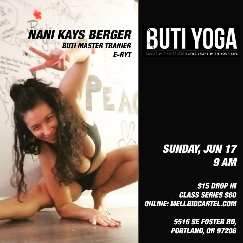 Image of JUNE 17: Buti Yoga