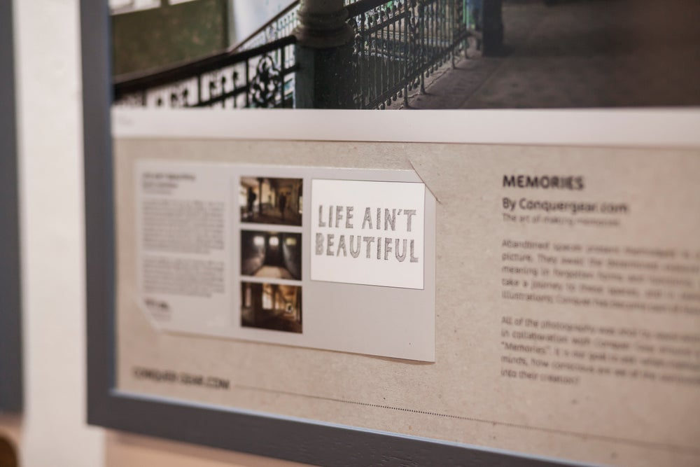 Life Ain't Beautiful - Grand Staircase