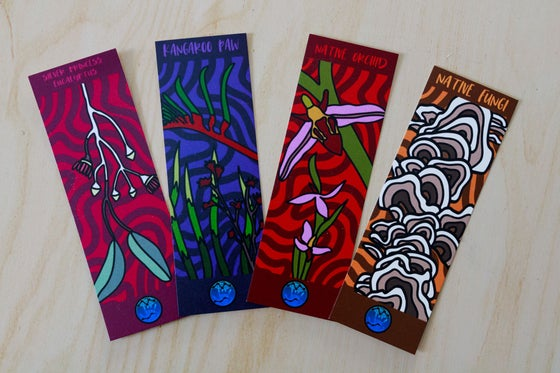 Image of Native Plant Bookmarks, Set A