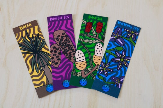 Image of Native Plant Bookmarks, Set B