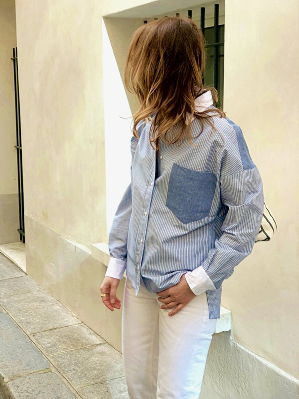 Chemise Forever Patch 150€  -50% - Maison Brunet Paris