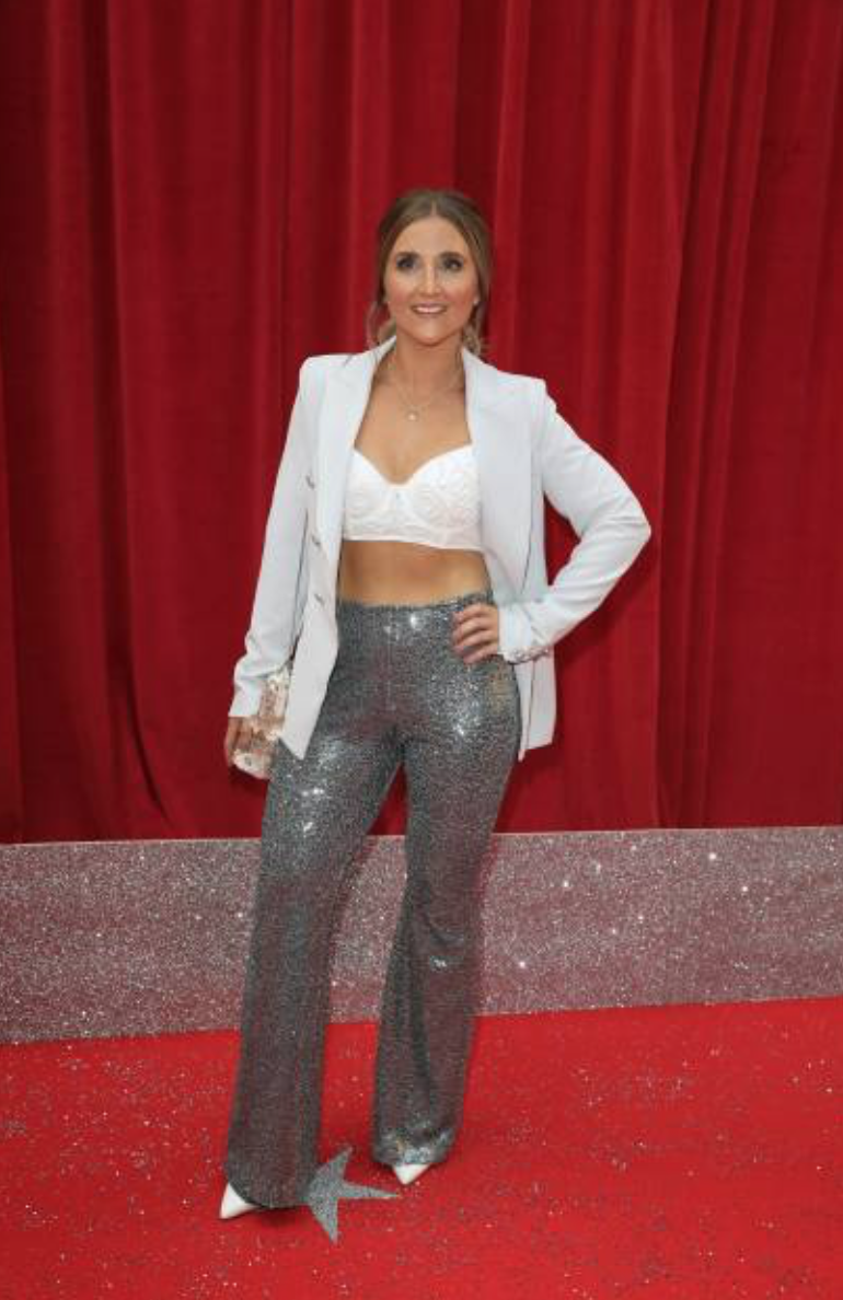 Image of Sequin Trousers