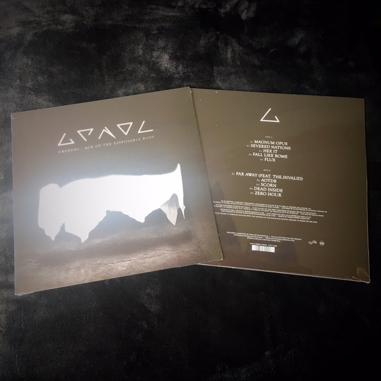"Image of LP Vinyl - Grendel ""Age Of The Disposable Body"" (Limited to only 300 copies!)"