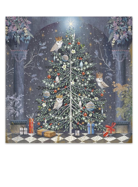 Image of Midnight Owls, Christmas Card