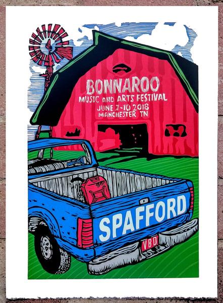 Image of Spafford Bonnaroo Print June 7-10 2018