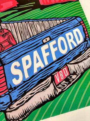 Image of Spafford Bonnaroo Print June 7-10 2018