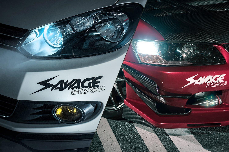 "Image of SAVAGE 11.5"" sticker"