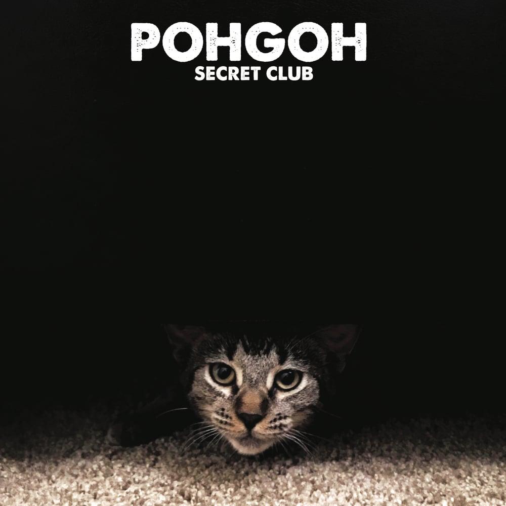 Image of POHGOH 'Secret Club' ~ LP - Coke Bottle Clear w/ Black Swirl (LTD 2019 Tour Ed!)
