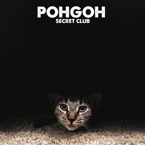 Image of POHGOH 'Secret Club' ~ LP - Coke Bottle Clear w/ Black Swirl (LTD 2019 Tour Ed!)
